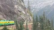 Scenic Train Ride In Alaska