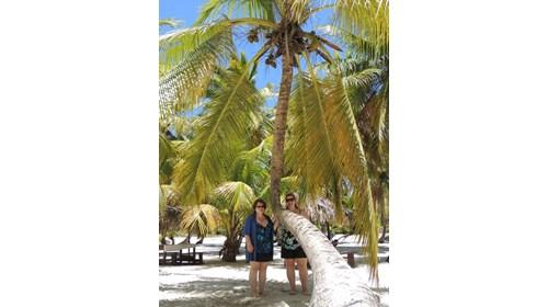 Visiting Saona Island