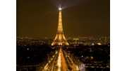 The shimmering lights of Paris at night!