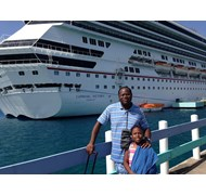 Returning to Carnival Victory In Ocho Rios, Jamaic