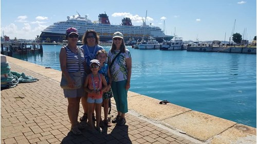 Disney Halloween Cruise to Bermuda with Family