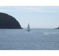 Sailboat in the San Juan Islands, Washington