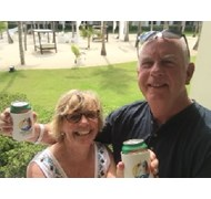 My clients having a great time in the Caribbean!