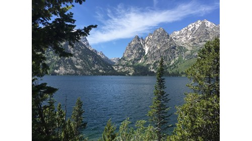 Grand Tetons National Park in Wyoming