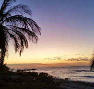 Beautiful sunset in Cayman Brac, spent a week here