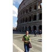 Visiting the Coliseum was on my travel bucket list