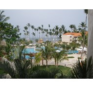 View from our room in Punta Cana! Gorgeous!