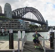 Me at Sydney Harbour