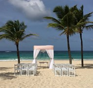 Hard Rock Punta Cana beach wedding