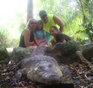 My family's visit to the Croco Cun Zoo