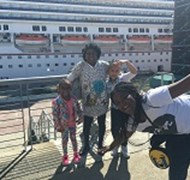 Having Fun At the New Orleans Pier