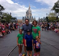 My family at WDW