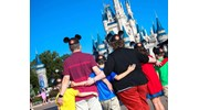 The first trip to Disney with our kids.