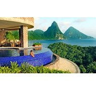 Jade Mountain resort in St. Lucia is beyond breath