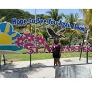 Enjoying Beautiful St. Maarten!