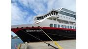 Hurtigruten MS Midnatsol in dock