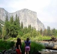 El Capitan  view from Yosemite Valley Floor.  Disc