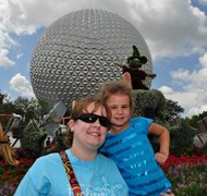 My Daughter and I at Epcot!