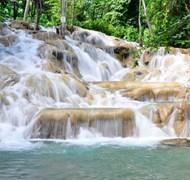Love climbing Dunn's River Falls in Ocho Rios