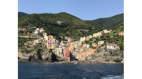 Cinque Terre by boat