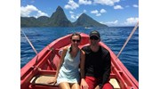 The majestic Pitons of St Lucia ~ August 2018