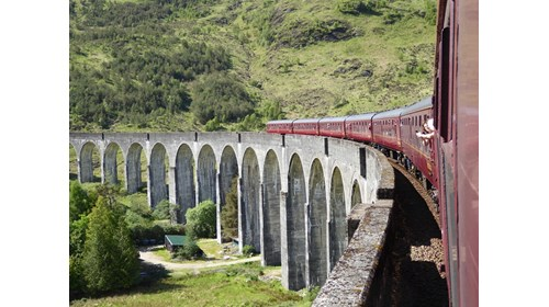The (Harry Potter) Jacobite Steam Train