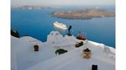 Celebrity Cruise in Santorini Port!