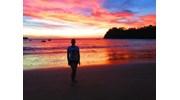 Stunning Sunset at Playa El Jobo in Costa Rica