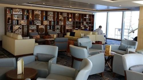 Explorers' Lounge, Viking Ocean Ships