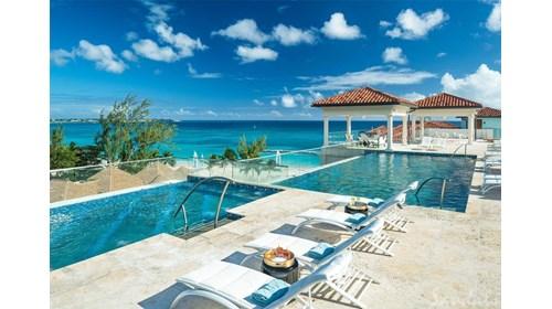 Sandals Royal Barbados Rooftop Pool