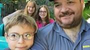 Family selfie at Disneyland