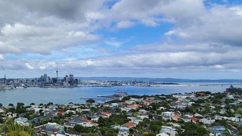 Overlooking Auckland!