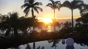 Hawaiian sunset at the Westin Hapuna