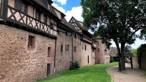 Riquewehr, in Alsace, France