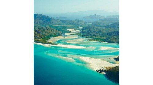 My favorite beach - Whitehaven Beach, Australia